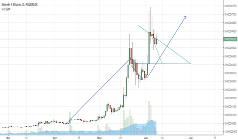 SCBTC: Siacoin is grow up to 750 or more maybe 900 satoshis