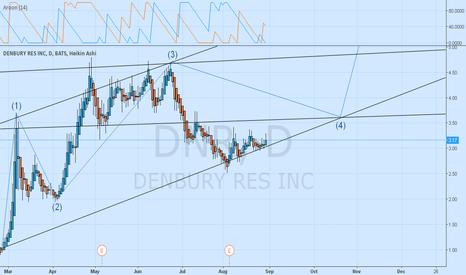 DNR: Long term DNR elliot wave