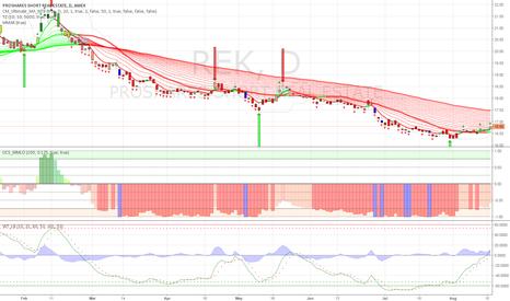 REK: Real estate reversal pattern seems to be forming $REK