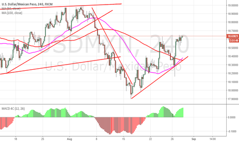USDMXN: USDMXN Bearish Flag