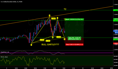 USDCAD: USDCAD BULL GARTLEY???