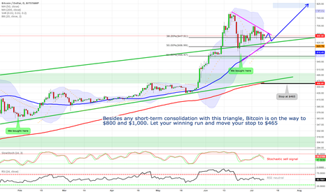BTCUSD: Bitcoin is on the way to $800 and $1,000