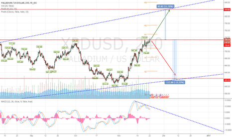 XPDUSD: A great divider for Palladium