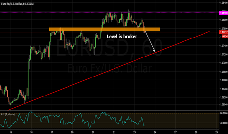 EURUSD: eur usd finally met the high