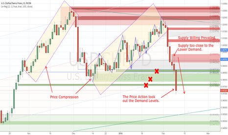 USDCHF: Bullish Compression on USDCHF