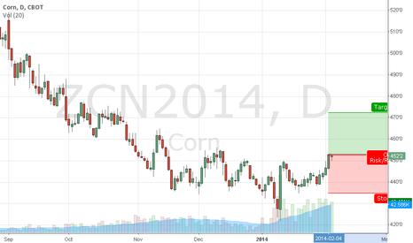 ZCN2014: Long Corn position