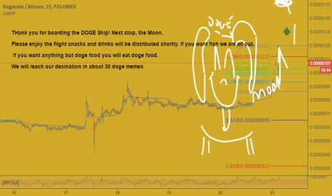 DOGEBTC: Doge moon