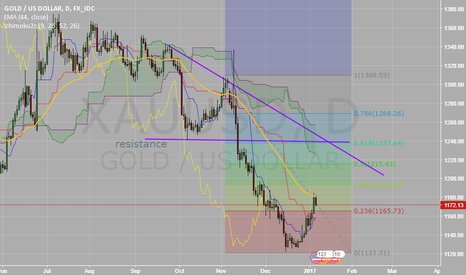 XAUUSD: excited on Gold