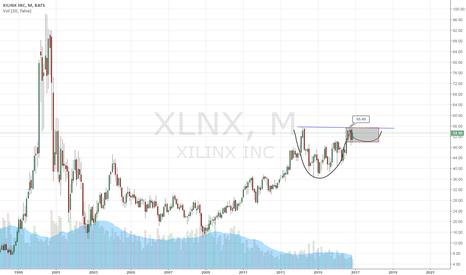 XLNX: monthly