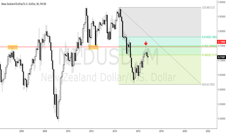 NZDUSD: NZDUSD Raw Price Action for Long Time