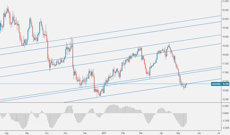XAGUSD: SILVER: Reversal Coming at Support