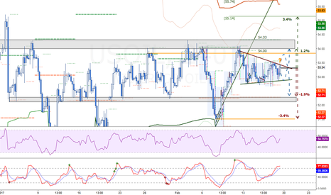 USOIL: Oil risks balanced, waiting for directionality at 53.50ish