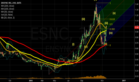 ESNC: esnc bullish elliot wave