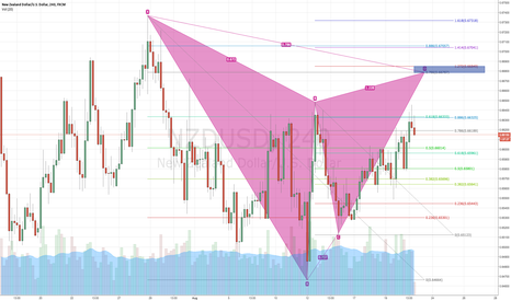 NZDUSD: Possible Gartley