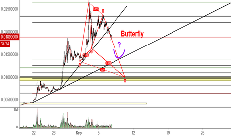 XMRBTC: Possible correction Targets on XMRBTC (Monero - Poloniex)