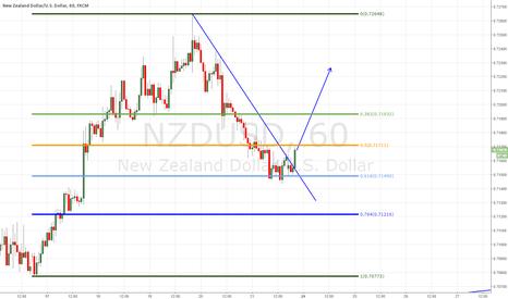 NZDUSD: NZDUSD bouncing off support (long)