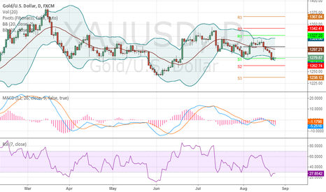 XAUUSD: Gold ready to go back up