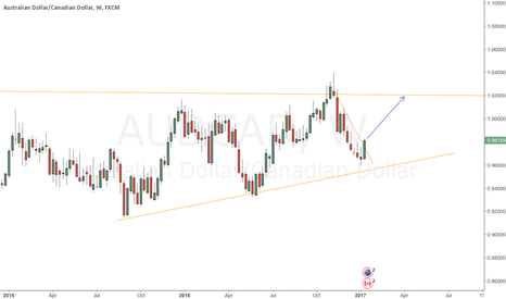 AUDCAD: aud/cad long term bullish outlook - Target 1.0200