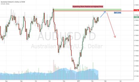 AUDUSD: AUDUSD Higher Short Position
