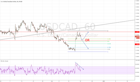 USDCAD: USDCAD Quick Sell then Wait