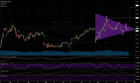 TWTR: Symmetrical Triangle (Continuation)
