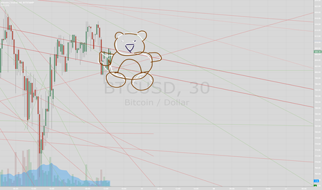 BTCUSD: This look bearish to me