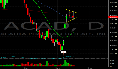 ACAD: ACAD attempted a breakout today, watching tomorrow for action