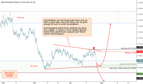 NZDUSD: NZD: Consolidation in the long-term support zone.