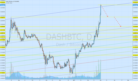 DASHBTC: In my opinion DASH has reached it's target.