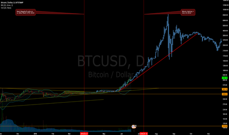 BTCUSD: The Bitcoin Megabull Cycle - To the Moon (Zoomed in Chart)