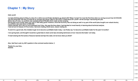 EURUSD: Chapter 1: My Story