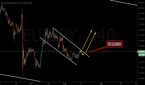 EURJPY: Next week trading: Big correction and a up move