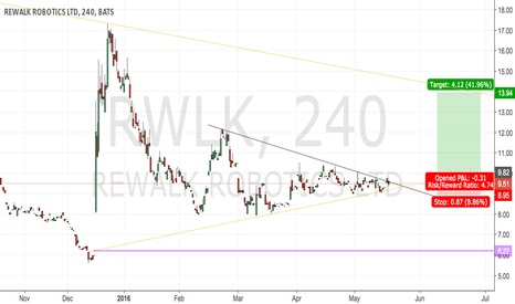 RWLK: Rewalk Potential Buy