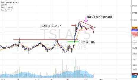 TSLA: $TSLA Bull Pennant