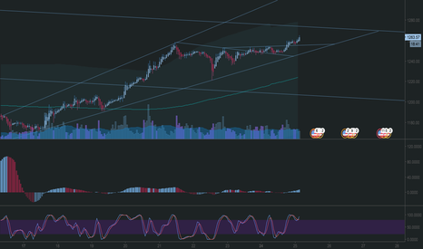 BTCUSD: up and up we go