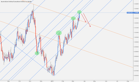 AUDCAD: audcad: shorting