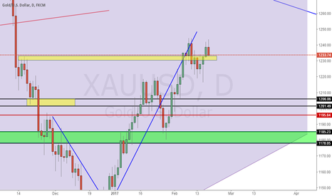 XAUUSD: Check if yellow zone can get good support