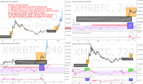 XMRBTC: Monero possibly going bubble in 2017