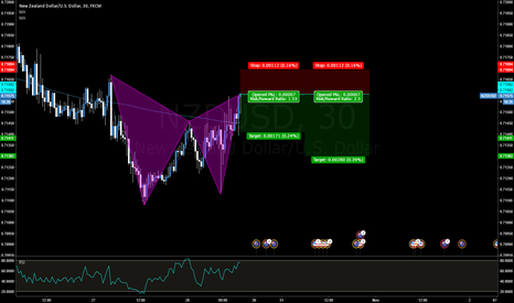 NZDUSD: NZDUSD Bearish Gartley