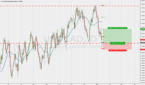 USDCAD: Long trade on the loony