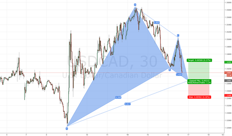 USDCAD: USDCAD bullish Gartley