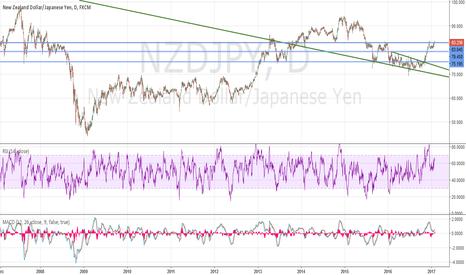 NZDJPY: NJ daily chart, long term idea