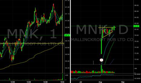 MNK: $MNK flag breakout