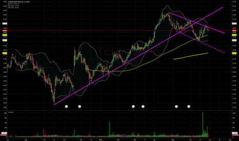 TERP: $TERP lower highs and lower lows emerging post break in support