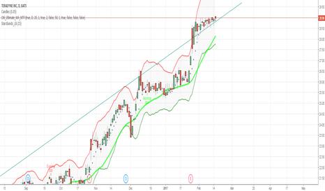TER: $TER Long- Gap low Volume growth