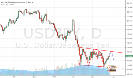 USDJPY:  usd jpy daily shows support 111 resistance 114