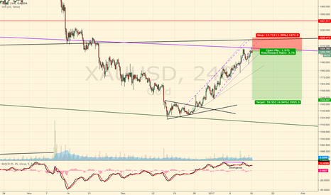 XAUUSD: Gold retrace on monthly resistance