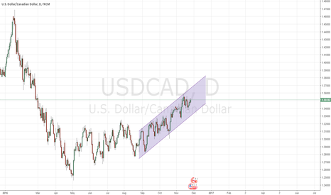 USDCAD: Let the trend be your friend - USDCAD