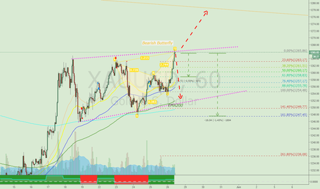 XAUUSD: Continuation for Bearish Butterfly