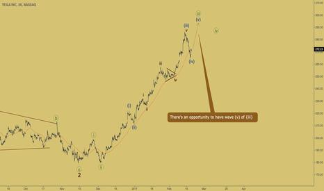 TSLA: TESLA - extension in wave {iii}